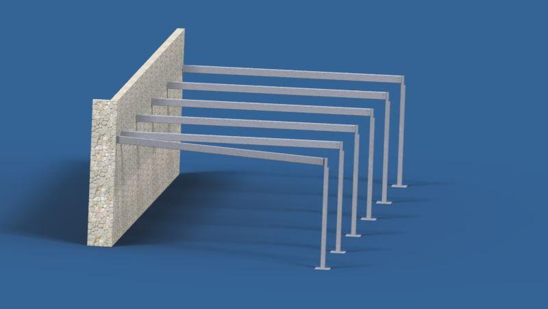 Carport 3D Model
