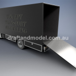 3D Car Carrier Design